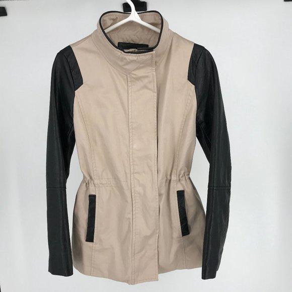 H&M Blush Utility Jacket Size 8